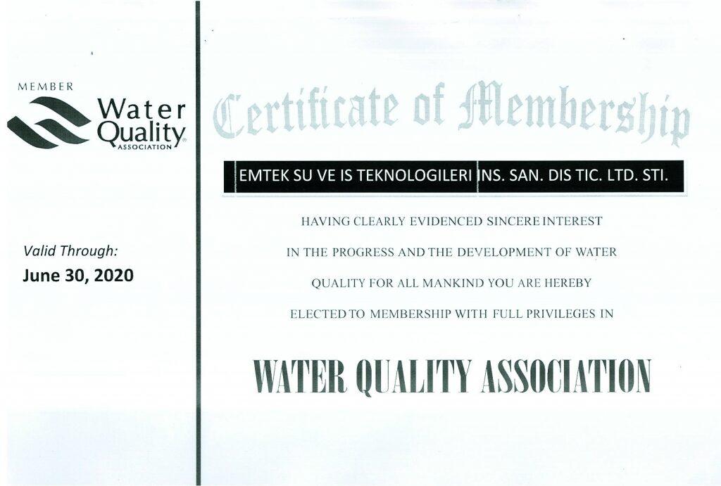 Emtek Water Quality Association